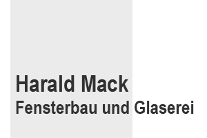Fensterbau Harald Mack