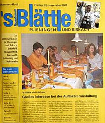 s'Blättle