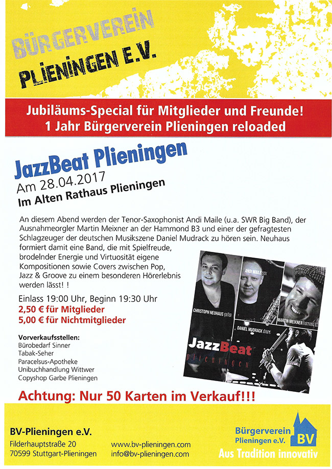 JazzBEAT Plieningen Vol. 2