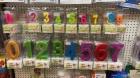 Bürobedarf – Spielwaren Sinner | Zahlenkerzen für den Kuchen